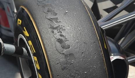 Qué es el graining y el blistering en Fórmula 1?