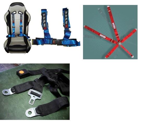 Cinturón de seguridad en forma de arnés