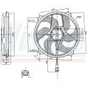 Ventilador, refrigeración del motor